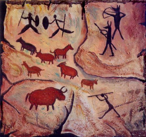 dibujos prehistoricos