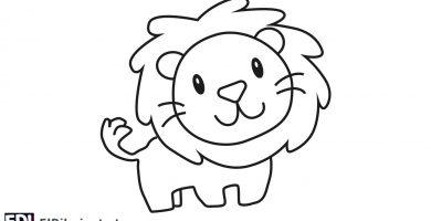 ¿Cómo dibujar un león fácil?
