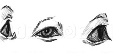 como dibujar ojos de perros paso a paso