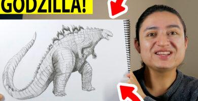 ¿Cómo dibujar a Godzilla?
